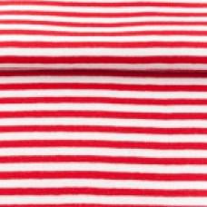 Ringelbündchen * rot/weiß