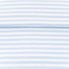 Ringelbündchen * hellblau/weiß