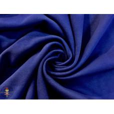 Kuschelsweat Uni * kobalt * Überbreite
