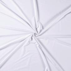 Baumwoll Jersey Kombi ♥ UNI ♥ Weiß