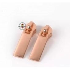 Reißverschluss Zipper * Rosegold 5mm * 3 Stück