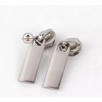 Reißverschluss Zipper * Silber 5mm * 3 Stück