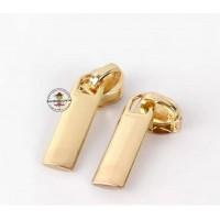 Reißverschluss Zipper * Gold 5mm * 3 Stück