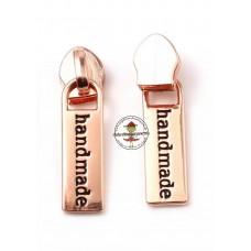 Reißverschluss Zipper * handmade Rosegold 5mm * 1 Stück