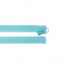 Reißverschluss teilbar * 65 cm * Aqua