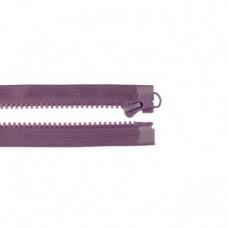 Reißverschluss teilbar * 65 cm * Aubergine