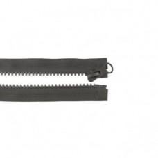 Reißverschluss teilbar * 65 cm * Dunkelbraun