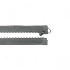 Reißverschluss teilbar * 65 cm * Grau