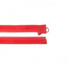 Reißverschluss teilbar * 65 cm * Hellrot