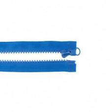 Reißverschluss teilbar * 65 cm * Kobalt