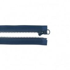 Reißverschluss teilbar * 65 cm * Marine
