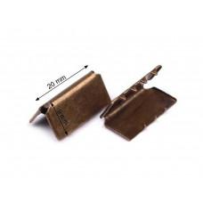 Endstück für Gurtband 20 mm