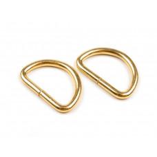 D-Ring Gold 25 mm 2 Stück