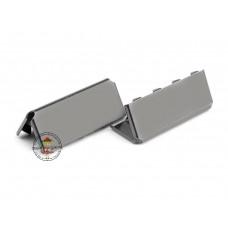 Endstück für Gurtband 25 mm Gunmetal