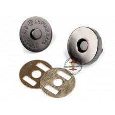 Magnetverschluss 18 mm Gunmetal