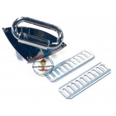 Trägerhalterung silber * 30 mm  1 Stück