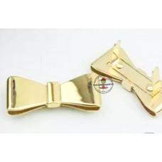 Deko Schleife * Gold