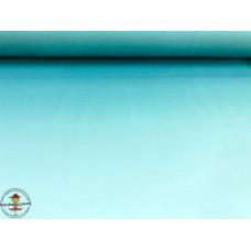 French Terry mit Farbverlauf ♥ Aqua ♥ Digitaldruck