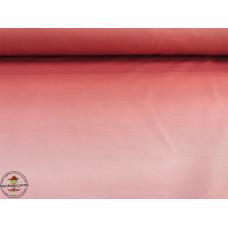 French Terry mit Farbverlauf ♥ Lachsrosa ♥ Digitaldruck