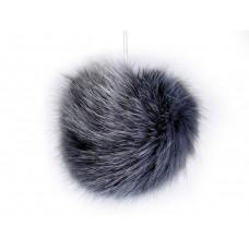 Fellbommel graublau Ø 8cm