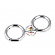 O-Ring, Metallring Ø 15 mm, 2 Stück