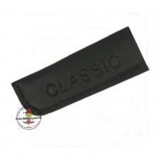 Kunstleder Kordelenden schwarz * 1 Paar * 8-10 mm