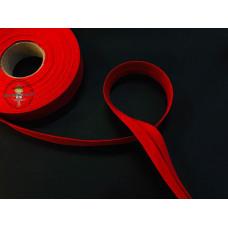 Baumwoll Schrägband ♥ rot ♥ Meterware