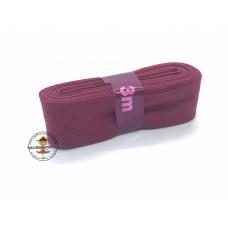 Baumwoll Schrägband ♥ 3 m Bündel ♥ hell bordeaux
