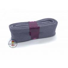 Baumwoll Schrägband ♥ 3 m Bündel ♥ grau