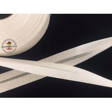 Baumwoll Schrägband ♥ naturweiß ♥ Meterware
