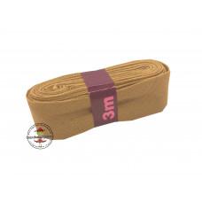 Baumwoll Schrägband ♥ 3 m Bündel ♥ ocker