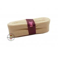Baumwoll Schrägband ♥ 3 m Bündel ♥ sand