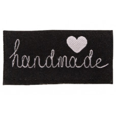 Einnäher ♥ handmade ♥ schwarz
