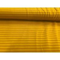 Baumwoll Jersey Kombi ♥ Ringel ♥ Senf - Gelb