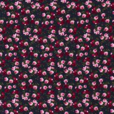 Musselin  ♥ Flower ♥ Navy