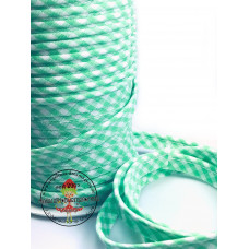 Paspelband ♥ Vichy ♥ Zartgrün