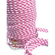Paspelband ♥ Vichy ♥ Pink