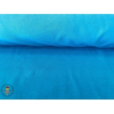 French Terry Sweat Uni* Caribbean Blue