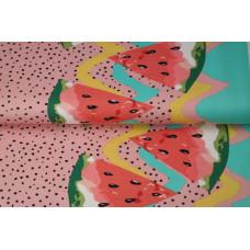 Jersey Border Melon Alt Rosa