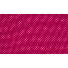 Baumwoll Jersey Dots ♥ Fuchsia