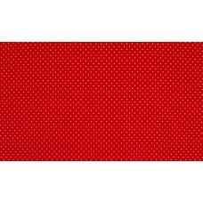Baumwoll Jersey Dots ♥ Rot