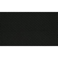 Baumwoll Jersey Dots ♥ Schwarz