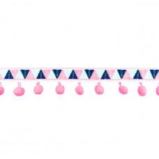 INCA Pompom Band  ♥ Hot Pink