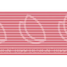 BIPP Design® * Ringel Baumwoll Jersey * Sven * Red