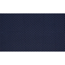 Baumwoll Jersey Dots ♥ Marine