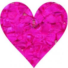 Mini Satin Schleife Pink, 5 Stück