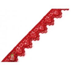 Ätzspitze mit Zackenkante Rot