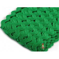 Zackenlitze Grün 9 mm