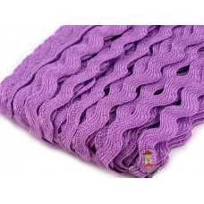 Zackenlitze Lavendel 9 mm