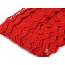 Zackenlitze Rot 9 mm